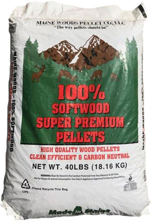 Maine Woods Softwood pellets