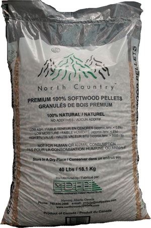 North Country pellets